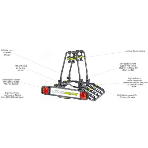 BUZZRACK Quattro 4 Bike Carrier