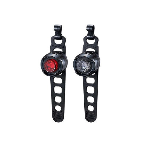 CATEYE Orb Front and Rear Light Set