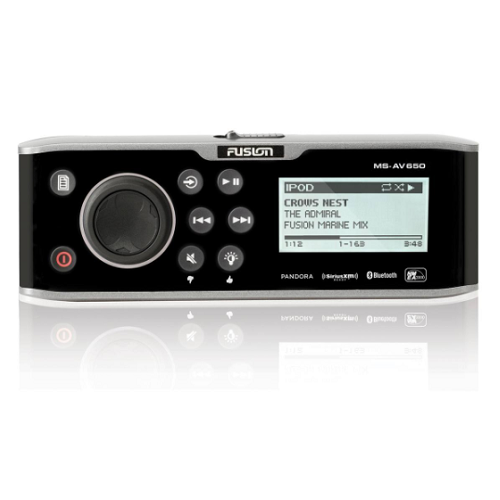 FUSION MS-AV650 Marine Stereo w/ DVD/CD Player