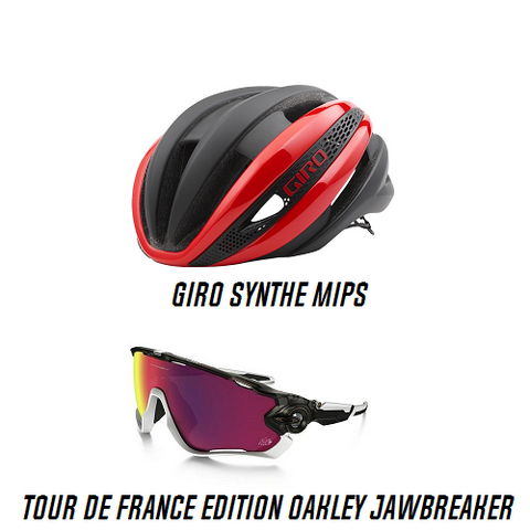 GIRO Synthe and Oakley Jawbreaker Combo Deal