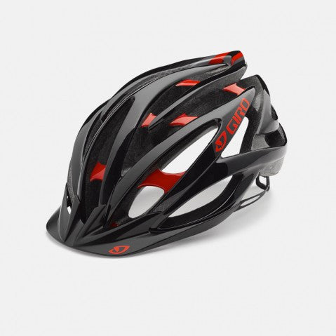 GIRO Fathom MTB Helmet - Red & Black