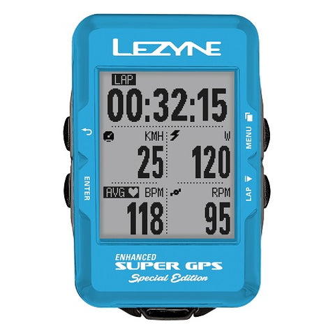 LEZYNE Super Special Blue Edition GPS