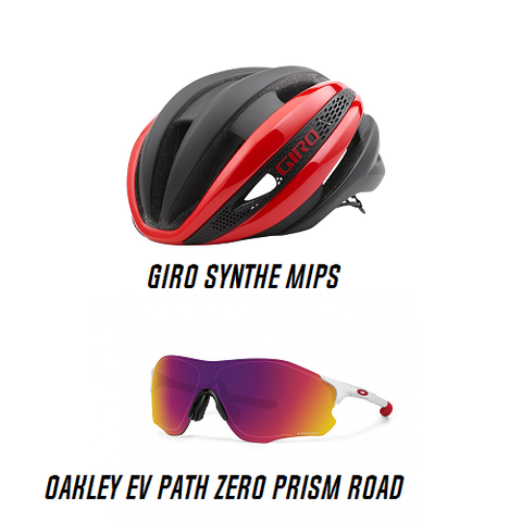 GIRO Synthe MIPS and Oakley EVpath Zero Combo Deal