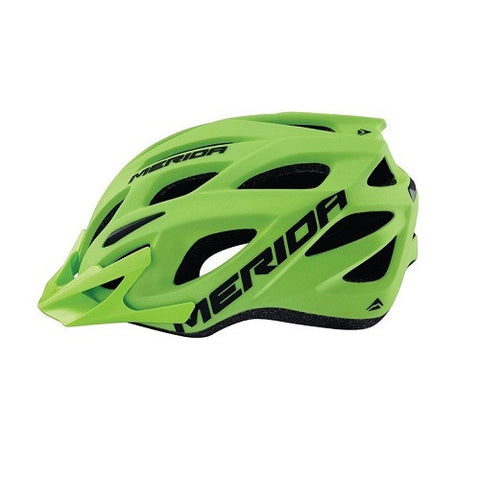 Highly ventilated: 21 holes Charger Helmet Matt Green