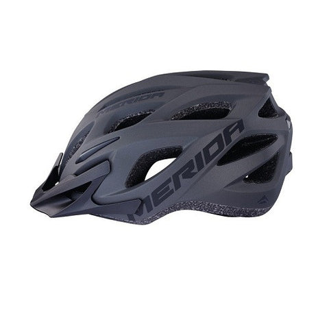 MERIDA Charger Helmet Matt Black -Heat sealed comfort padding