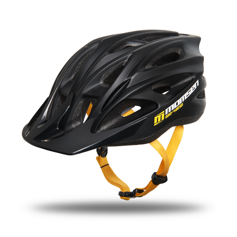 MOMSEN RX TWO Helmet Black and Yellow
