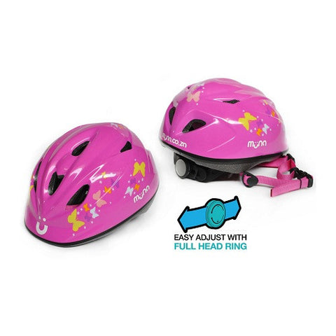 MUNA Girls Butterfly Helmet