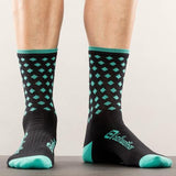 BELLWETHER Socks - Pinnacle Aqua