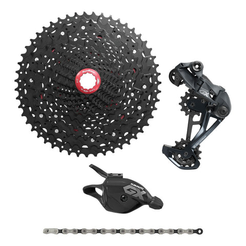 SRAM GX Eagle 12 Speed Upgrade Kit with Sun Race 11-51T Cassette (2020)
