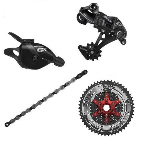 SRAM GX 1x11 Upgrade Kit with Sunrace 11-50T Cassette
