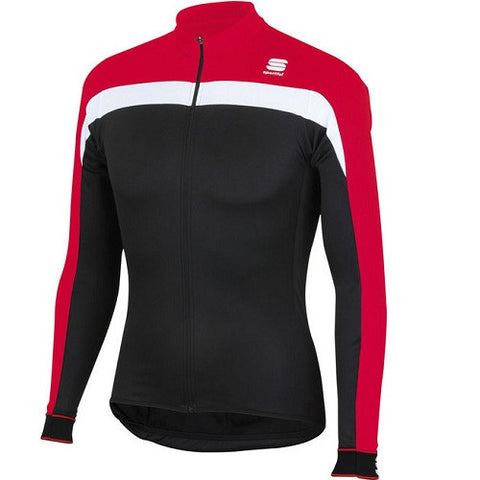 SPORTFUL Pista Thermal Jersey  Red/White/Black