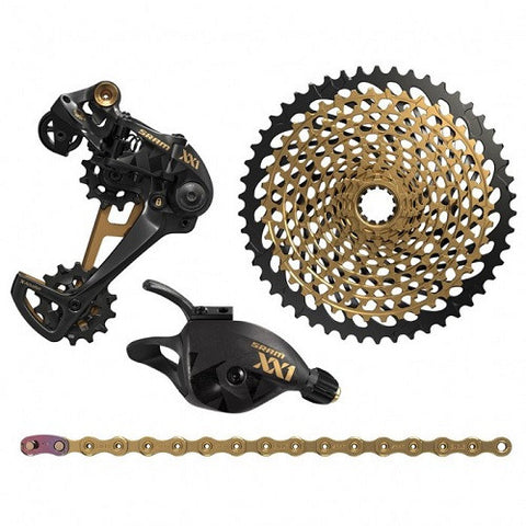 Gold SRAM XX1 Eagle Upgrade Kit