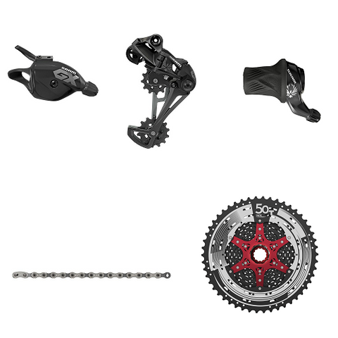 SRAM GX Eagle 12 Speed Upgrade Kit (Sun Race 11-50T Cassette)