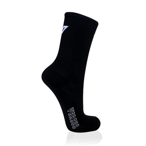 VERSUS Black Cycling Socks