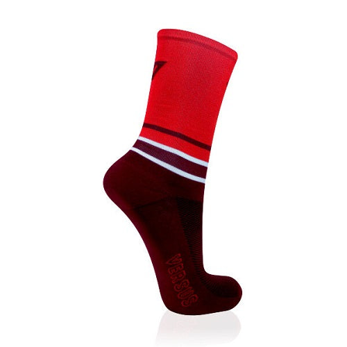 VERUS Red Cycling Socks