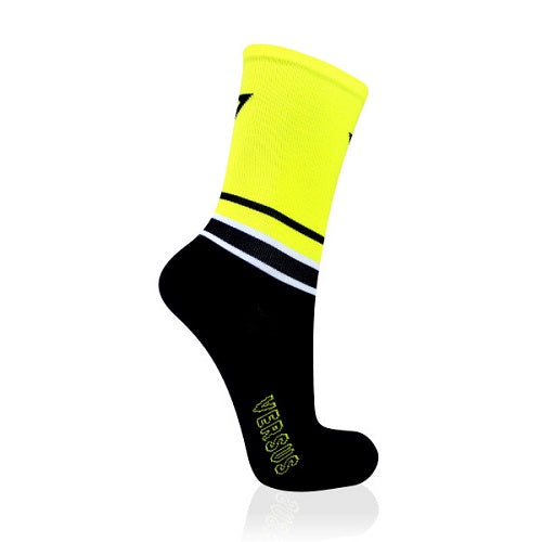 VERSUS Yellow Cycling Socks