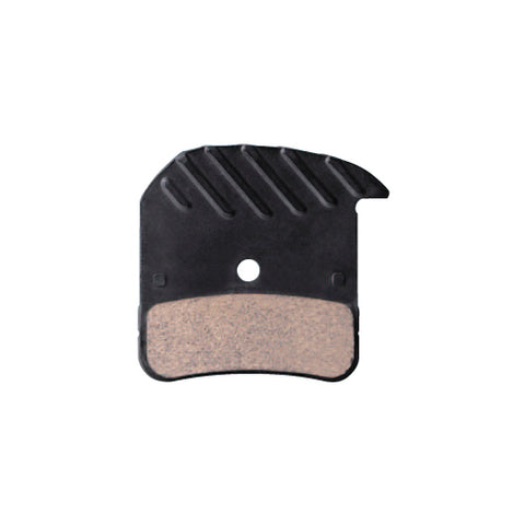 SHIMANO H03C Metal Brake Pads with Fin for Saint/Zee