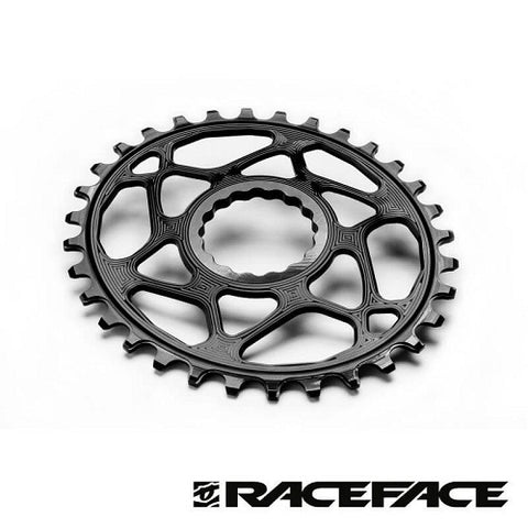 ABSOLUTE BLACK Race Face Oval Chainring