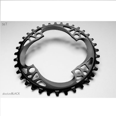 ABSOLUTE BLACK Shimano Narrow Wide Chainring