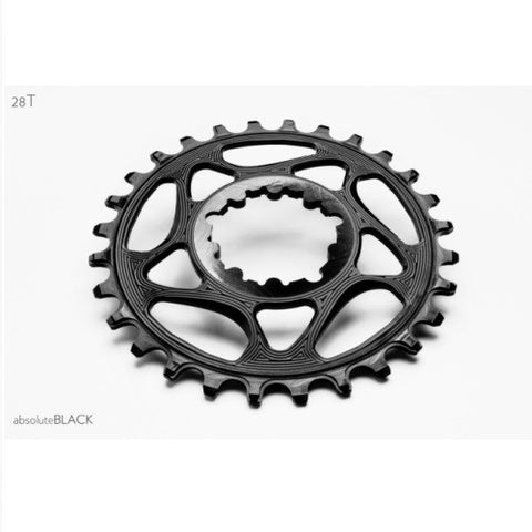 ABSOLUTE BLACK Sram Direct Mount GXP Narrow Wide Chainring