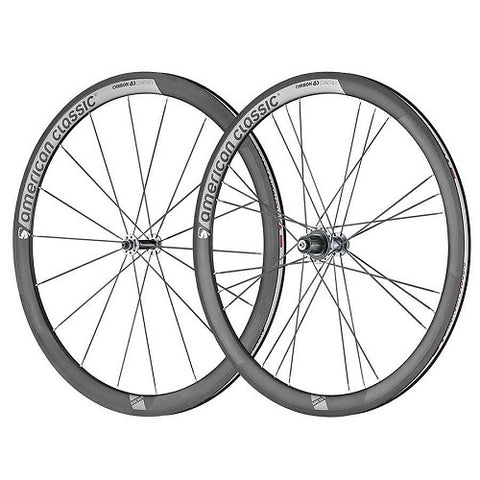 AMERICAN CLASSIC Full Carbon 40 Clinsher Wheelset