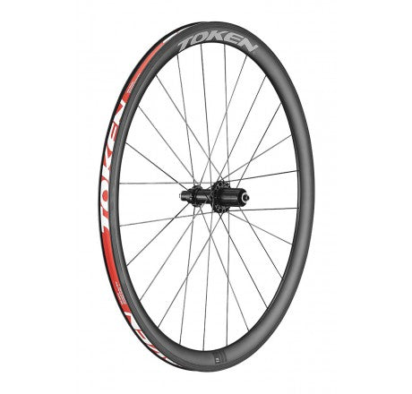 TOKEN Zenith C38 Carbon Clincher Wheelset