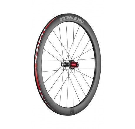 TOKEN C50P Prime Carbon Clincher Wheelset