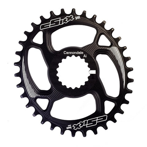 CSIXX Cannondale Ai TT Chainring OVAL - Direct-mount