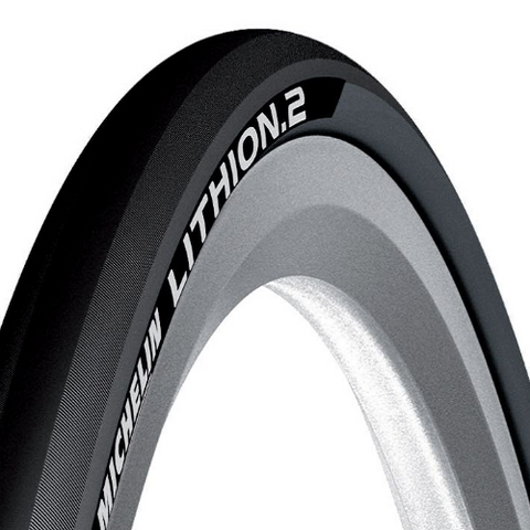 MICHELIN Lithion 2 V2 Road Tyre 700x23c Grey/Black