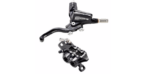 HOPE Tech3 E4 (Black Hose) Brake Set