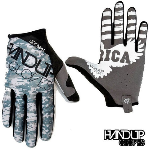 HANDUP Merican Grey Camo Gloves