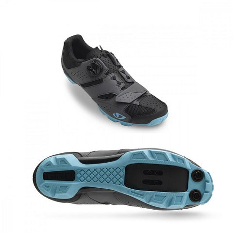 GIRO Cylinder Ladies MTB Dark Shadow/Iceberg Shoes (2019)