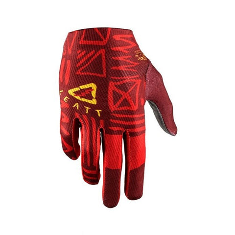 LEATT DBX 1.0 GripR Gloves (2019) - Ruby