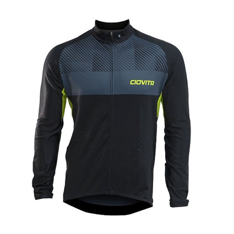 CIOVITA Lineare Mens Winter Cycling Jersey