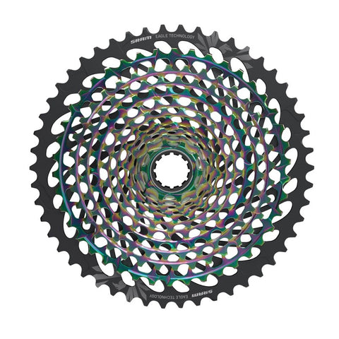 Rainbow SRAM XX1 Eagle AXS 12-Speed Cassette