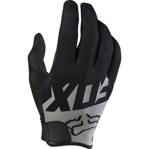 FOX MTB Ranger Long Finger Gloves Black/Grey (2016)