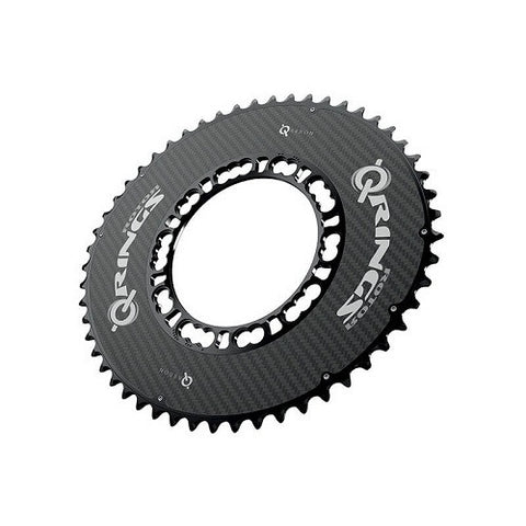 ROTOR Q-Ring Qarbon 110BCD chainring 53T Road