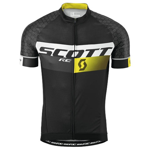 SCOTT RC Pro Short Sleeve (Black/Yellow)