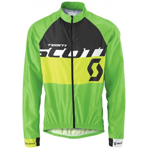 SCOTT RC Team (Black/Green) Windbreaker