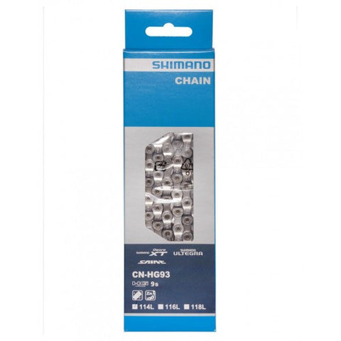 SHIMANO HG93 9 Speed XT Chain 116 Links