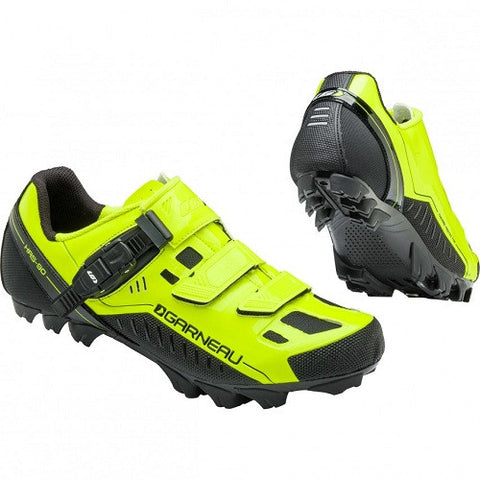 LOUIS GARNEAU Slate MTB Shoes, Flo Yello/Black