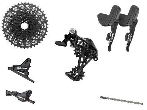 SRAM Apex1 1x11 Upgrade Kit with Hydraulic Disc Brakes