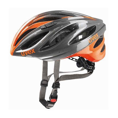 UVEX Boss Race Helmet (Grey/Neon Orange)