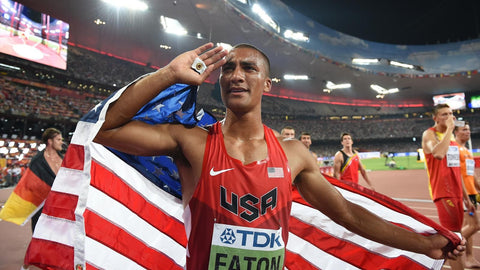 Ashton Eaton with a gold medal performance