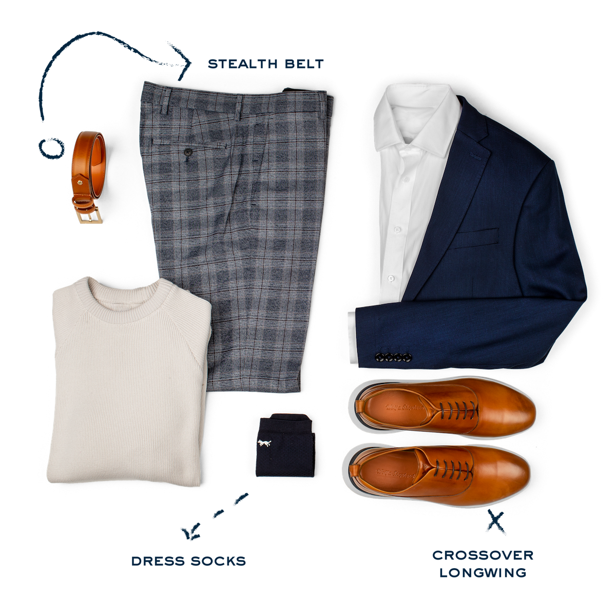 Crossover Longwing Honey/White Style Guide
