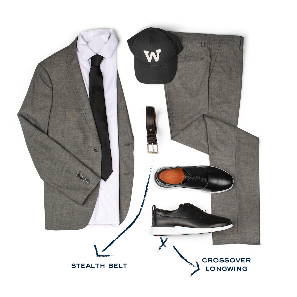 Crossover Longwing Onyx/White Style Guide