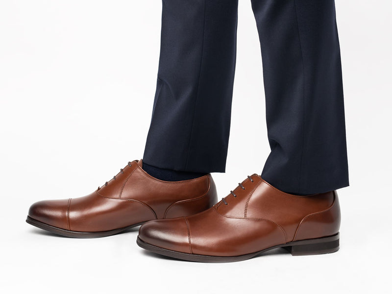 Closer Cap Toe | Oxford Dress Shoe | WOLF & SHEPHERD – Wolf & Shepherd