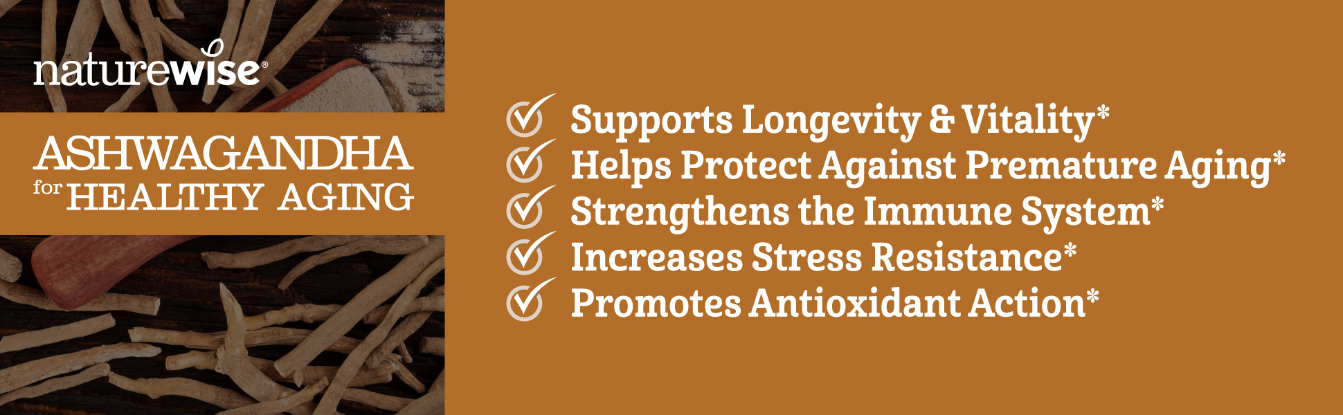 Supports Longevity and Vitality
