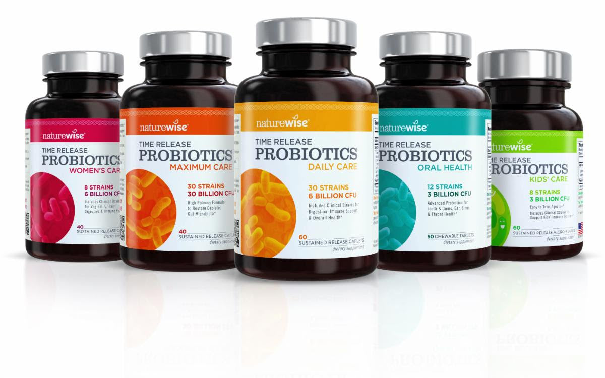 naturewise free bottle probiotics