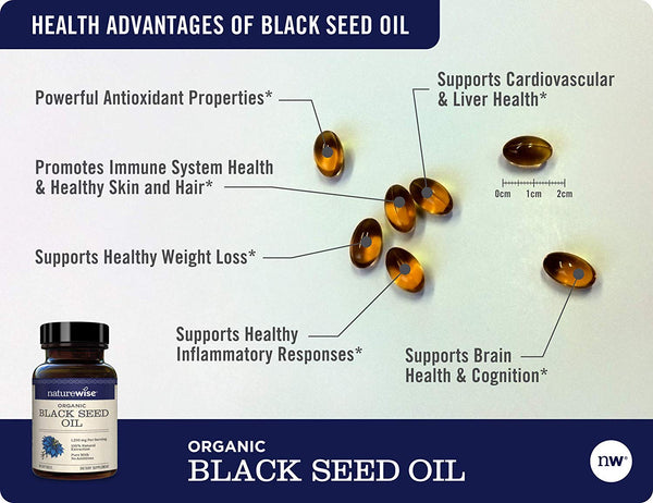 Organic Black Seed Oil 3-Pack
